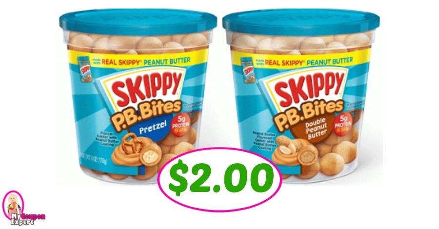 Skippy P.B. Bites just $2.00 each at Publix!