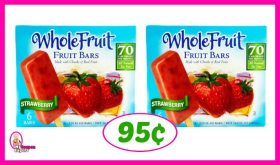Whole Fruit Bars just 95¢ at Publix!!