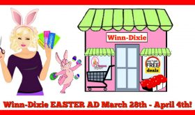 Winn Dixie EASTER AD March 28th – April 4th!!
