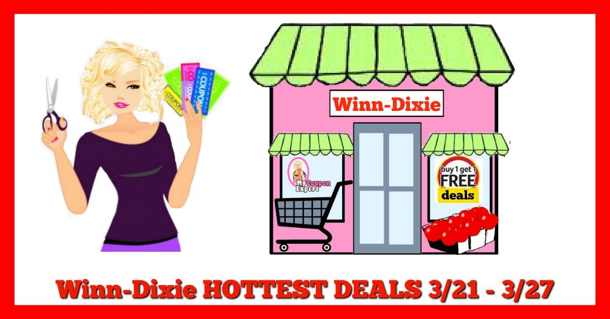 Winn Dixie HOT DEALS March 21st – 27th!!