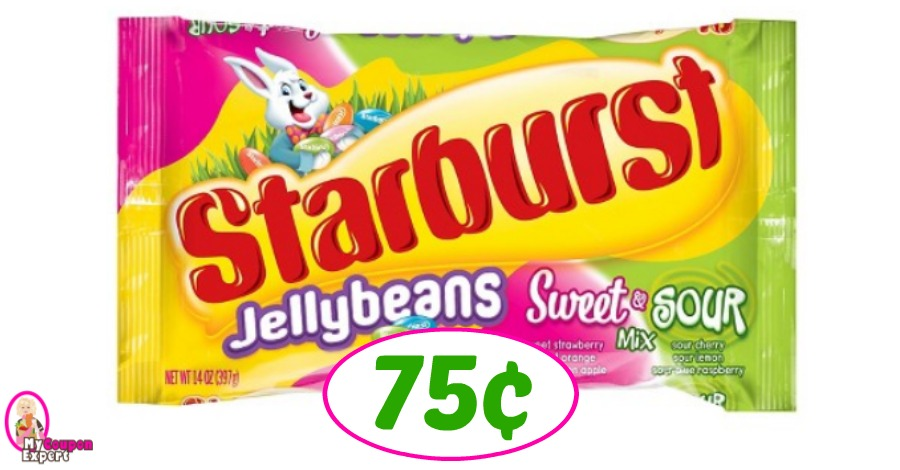 Starburst Jelly Beans just 75¢ each at Publix!