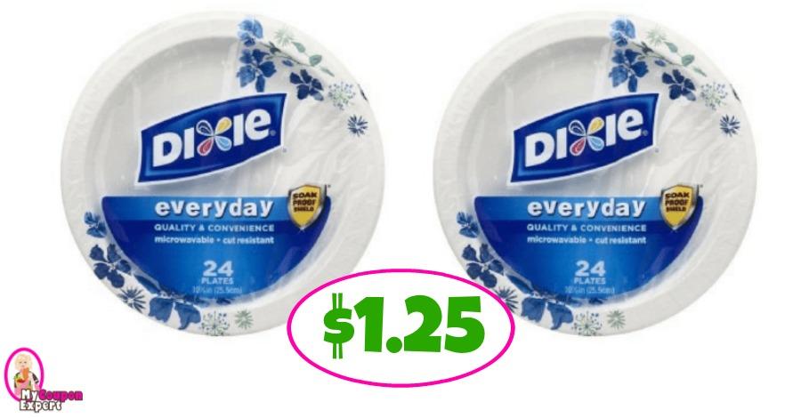 Dixie Plates just $1.25 at Publix!!