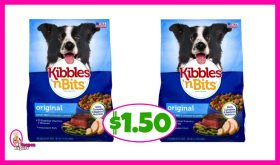 Kibbles 'n Bits Dog Food $1.50 at Publix!