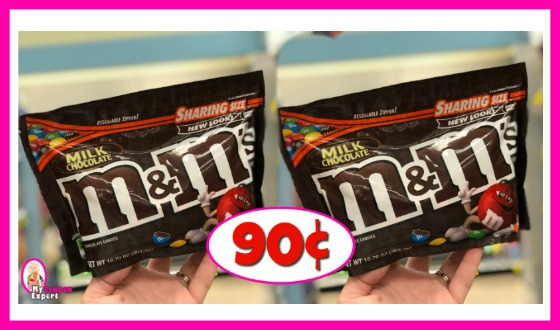 M&M's Sharing Bags just 90¢ at Publix!