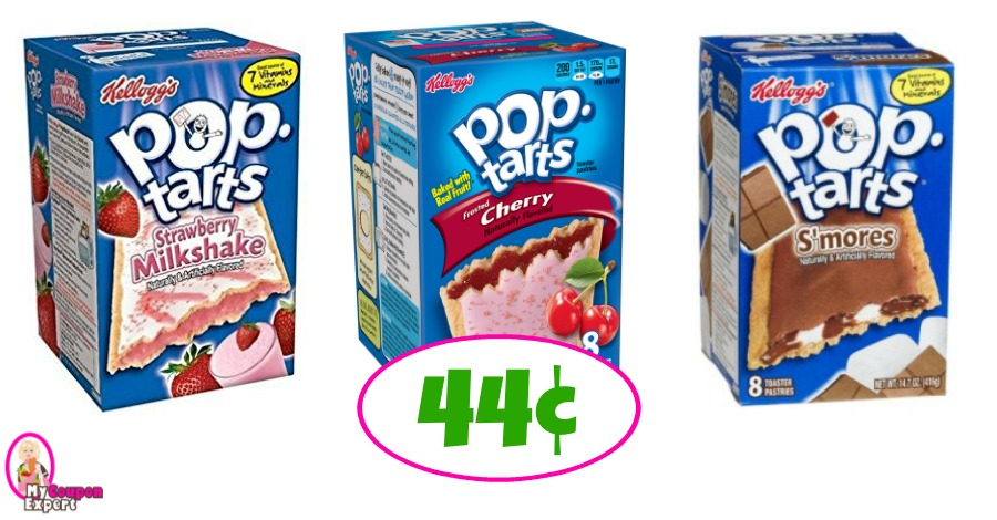 Pop Tarts just 44¢ each at Winn Dixie this week!