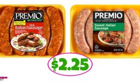 Premio Italian Sausage $2.25 each at Winn Dixie!