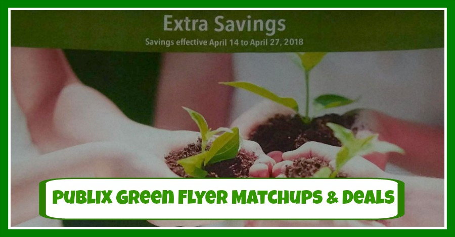 Publix GREEN FLYER DEALS April 14th – 27th!