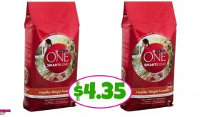 Purina One 8 POUND BAG just $4.35 at Publix!