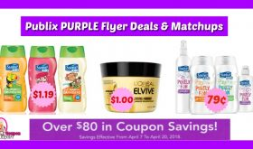 Publix PURPLE FLYER Deals & Matchups April 7th – 20th!