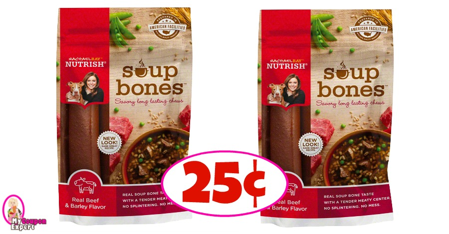 Rachael Ray Dog Treats just 25¢ at Winn Dixie!