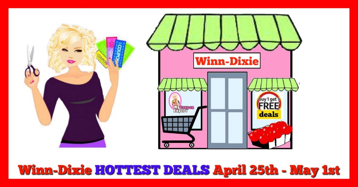Winn Dixie HOT DEALS April 25th – May 1st!