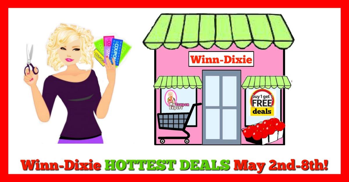 Winn Dixie HOTTEST DEALS May 2nd – 8th!!