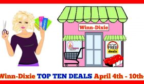 Winn Dixie TOP TEN DEALS for April 4th – 10th!