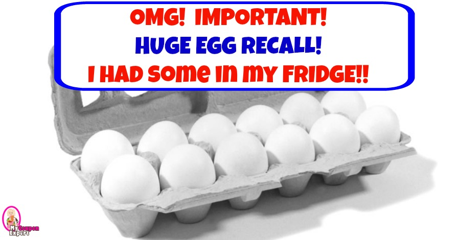 URGENT!!  HUGE EGG RECALL!!  Check your cartons!