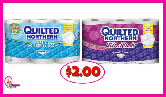 Quilted Northern Tissue Paper just $2.00 at Publix!!