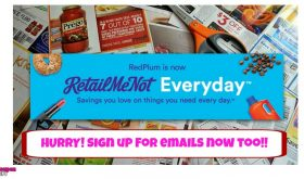 Sign up for RetailMeNot Emails for Deals!