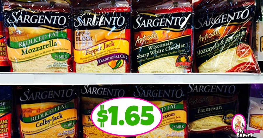 Sargento Shredded Cheese $1.65 at Publix!