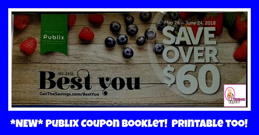 Be The Best You Publix Coupon Booklet!  Printable Too!