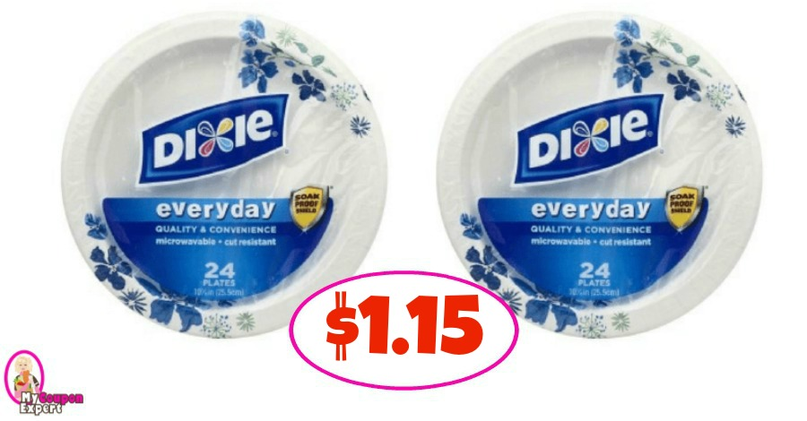 Dixie Plates just $1.15 at Winn Dixie!