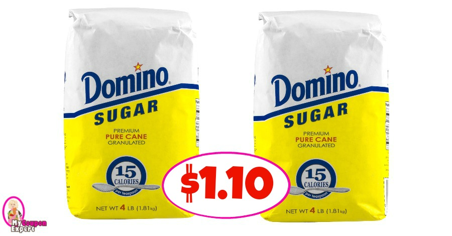 Domino Sugar just $1.10 at Winn Dixie!