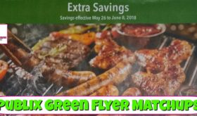 Publix GREEN Flyer Matchups May 26th – June 8th!