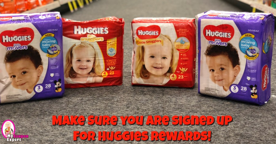Huggies Rewards!!  Hurry & Sign Up!
