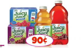 Juicy Juice – 90¢ at Winn Dixie PLUS Free Movie Tickets!