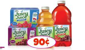 Juicy Juice just 90¢ at Winn Dixie!