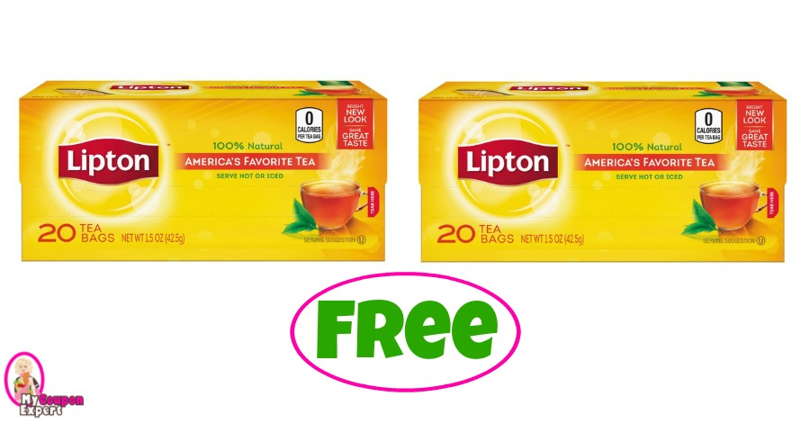 Lipton Tea Bags as low as FREE at Publix!