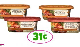 Rachael Ray Nutrish Wed Dog Food 31¢ at Winn Dixie!