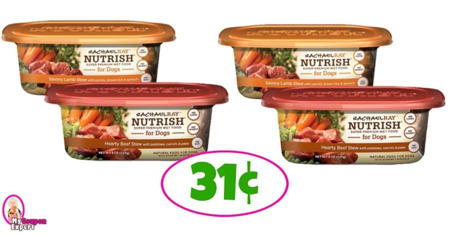Rachael Ray Nutrish Wed Dog Food 31¢ at Winn Dixie!