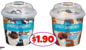 Blue Bunny Load'd Sundaes $1.90 at Winn Dixie!