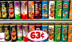 Pringles Chips just 63¢ at Publix!!  Yippee!