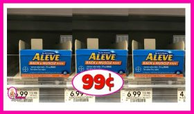 Aleve Products 99¢ at Publix!  Unadvertised Deal!