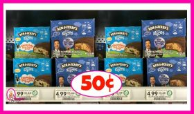 Ben & Jerry's Pint Slices 50¢ at Publix!