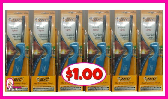Bic Multi Purpose Lighters $1.00 at Publix!