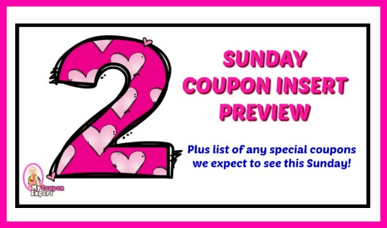 Coupon Insert Preview – Sunday, October 14th TWO inserts!