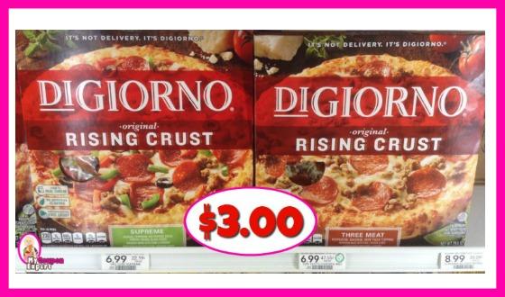 DiGiorno Pizza $3.00 each at Publix!