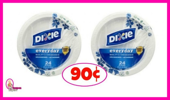 Dixie Plates Deal is back!  Just 90¢ each at Publix!