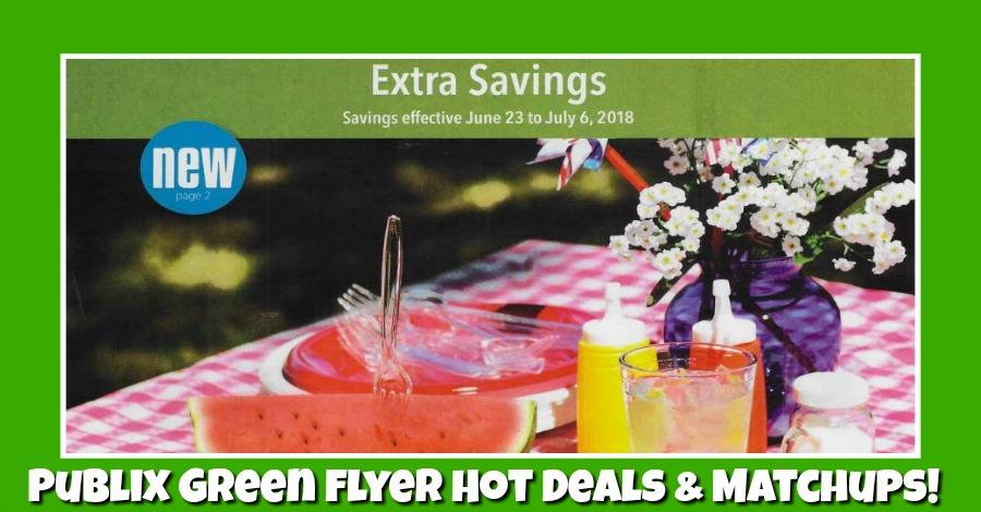 Publix Green Flyer Hot Deals Matchups June 23rd 6th