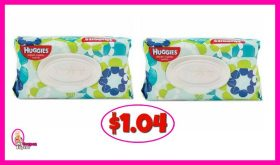 Huggies Wipes Soft Packs $1.04 at Publix!