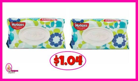 Huggies Wipes Soft Packs $1.04 at Publix!