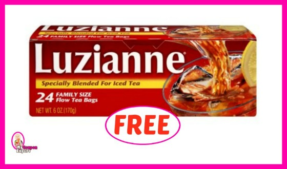 Luzianne Tea FREE at Winn Dixie for some!