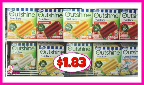 Nestle Outshine Bars $1.83 at Publix!