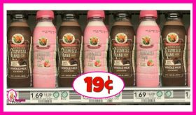 Promised Land Dairy Milk 19¢ at Publix!