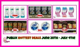 Publix HOTTEST DEALS June 28th – July 4th!