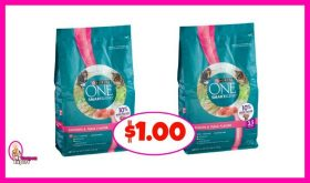 Purina SmartBlend Cat Food $1.00 at Publix!