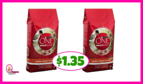 Purina One SmartBlend Dog Food – $1.35 at Publix! *New Coupon*
