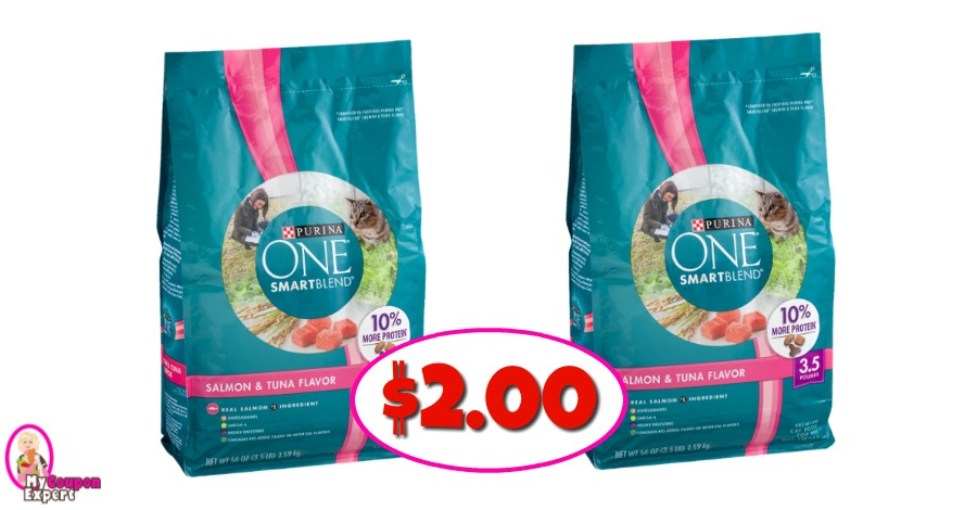 Purina SmartBlend Cat Food $2.00 at Publix!