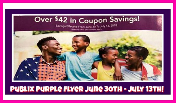 Publix Purple Flyer Matchups June 30th – July 13th